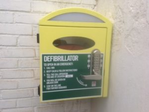 Good news Nawton Parish Council now have a defibrillator installed. Location Rose and Crown